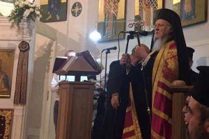 Στον Άγιο Θεόδωρο Ρώμης ο Οικ. Πατριάρχης Βαρθολομαίος