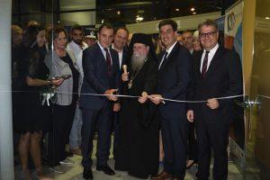 Τα Εγκαίνια της 27ης Έκθεσης KAVALAEXPO ευλόγησε ο Μητροπολίτης Φιλίππων Στέφανος