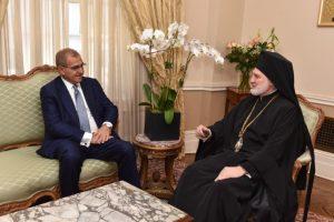 ΥΦΥΠΕΞ Αντώνης Διαματάρης σε Αρχιεπίσκοπο Ελπιδοφόρο: Η Ελλάδα στο πλευρό της Αρχιεπισκοπής Αμερικής