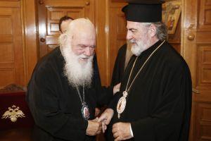 Ο Αρχιεπίσκοπος Θυατείρων Νικήτας στην Ιερά Αρχιεπισκοπή Αθηνών
