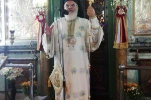 Ο Σεβ. Βρεσθένης  Θεόκλητος στην Ι. Μητρόπολη Σπάρτης για το Γενέσιο της Θεοτόκου