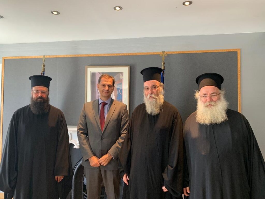 Στον υπ. Τουρισμού αντιπροσωπεία της Εκκλησίας της Κρήτης