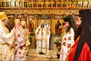 Ιερά Αγρυπνία επί τη επετείω  ανευρέσεως και ανακομιδής των  Ιερών Λειψάνων της Αγίας Νεοπαρθενομάρτυρος Κυράννης στη Μητρόπολη Λαγκαδά.