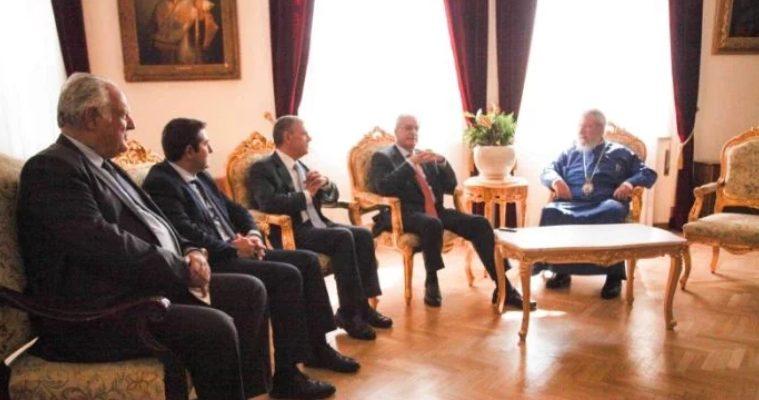 Ο Πρόεδρος της Βουλής των Ελλήνων κ. Τασούλας στον Κύπρου Χρυσόστομο