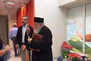 Ο Δήμαρχος Θεσσαλονίκης στο Κοινωνικό Πολυϊατρείο της Ι.Μ. Νεαπόλεως