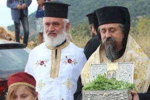 Τα Τίμια λείψανα των Αγίων Ραφαήλ, Νικολάου και Ειρήνης στην Ι.Μ.Καρπενησίου
