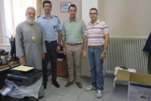 Δωρεά φωτοτυπικού στο ΑΤ Σύρου από την Ιερά Μητρόπολη