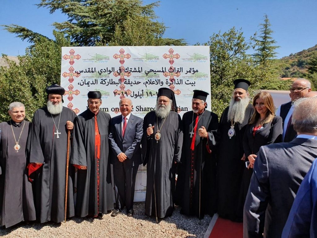 You are currently viewing Ο Μητροπολίτης Σταγών και Μετεώρων κ.Θεόκλητος στο Λίβανο