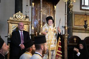 Οικουμενικός Πατριάρχης: Το οικολογικόν πρόβλημα αποκαλύπτει ότι ο κόσμος μας αποτελεί ενότητα, ότι τα προβλήματά μας είναι παγκόσμια και κοινά