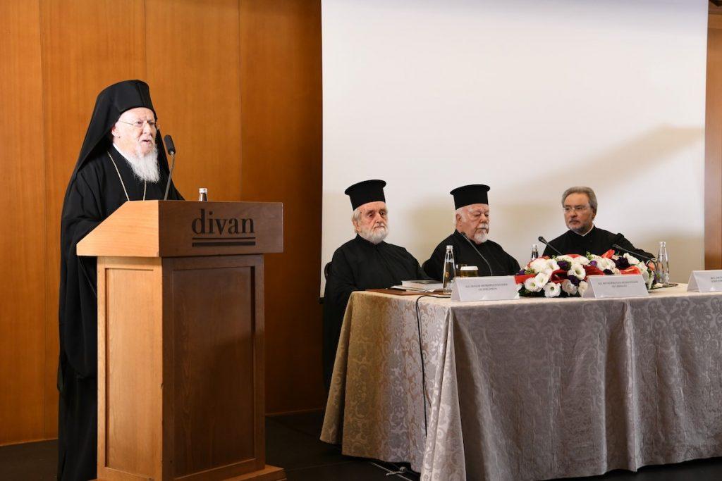 You are currently viewing Ο Οικουμενικός Πατριάρχης κήρυξε την έναρξη Διεθνούς Συνεδρίου για τη θεολογική παρακαταθήκη του αειμνήστου π.Γεωργίου Φλωρόφσκυ