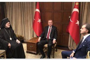 Συνάντηση με τον Αρχιεπίσκοπο Ελπιδοφόρο ζήτησε ο Τούρκος Πρόεδρος