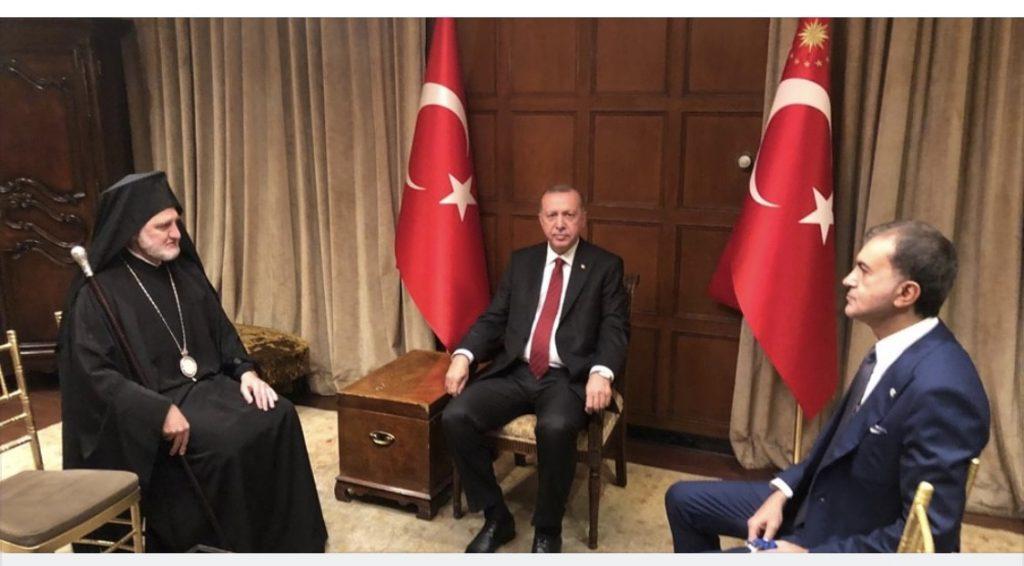 You are currently viewing Συνάντηση με τον Αρχιεπίσκοπο Ελπιδοφόρο ζήτησε ο Τούρκος Πρόεδρος