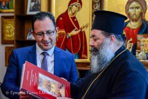 Συνάντηση του Σεβ. Λαγκαδά Ιωάννη, με τον απερχόμενο  Γενικό Πρόξενο της Τουρκίας  στην Θεσσαλονίκη, κ. Orhan Yalman OKAN