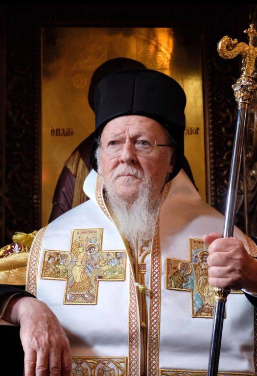 Ο Πατριάρχης στην Ιερά Μονή Παντοκράτορος
