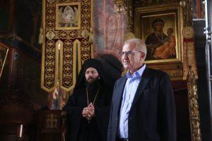 Την ΙΜΜ Βατοπαιδίου επισκέφθηκε ο ΥΦΕΞ Αντώνης Διαματάρης