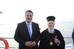 """""""Είχα την εξαιρετική τιμή να συνοδεύσω τον Οικουμενικό Πατριάρχη"""" – Fan του Πατριάρχη ο Απ. Τζιτζικώστας"""