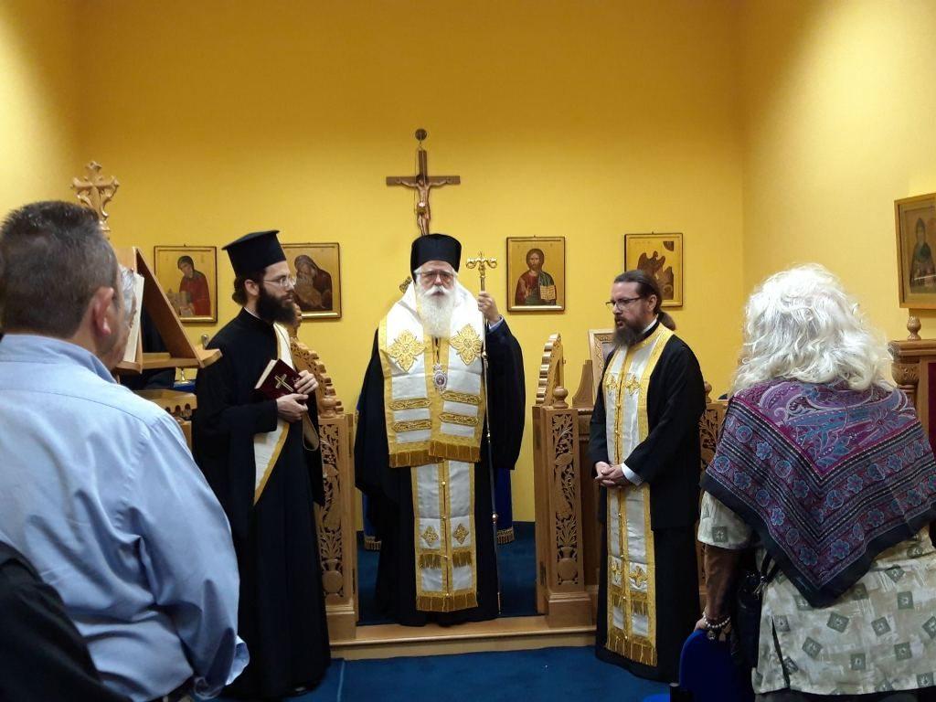 Δημητριάδος Ιγνάτιος: «Η μνήμη του Χριστοδούλου θα είναι πάντα ζωντανή σε όλους τους Έλληνες» – •Τρισάγιο για τον Αρχιεπίσκοπο Χριστόδουλο στον Βόλο