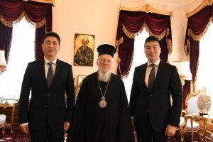Ο Γεν.Πρόξενος της Λαϊκής Δημοκρατίας της Κίνας στην Πόλη επισκέφθηκε το Οικουμενικό Πατριαρχείο