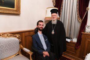 Ο Έλληνας Ευρωβουλευτής Στέλιος Κυμπουρόπουλος στο Οικουμενικό Πατριαρχείο