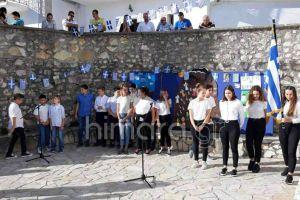 Τα ελληνόπουλα της Χιμάρας τιμούν την επέτειο του ΟΧΙ