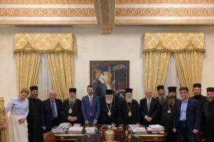 Συνεργασία της Μητρόπολης Κορίνθου και του Πανεπιστημίου Λευκωσίας με συνδετικό κρίκο την Ι. Μονή Κύκκου
