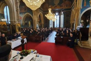 Η πρώτη Ιερατική Σύναξη της Αρχιεπισκοπής Θυατείρων και Μεγάλης Βρετανίας