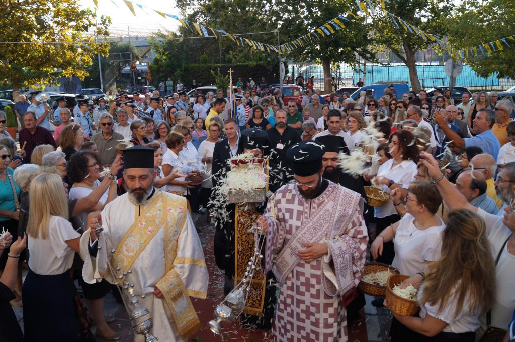 Πάνδημη υποδοχή της Τιμίας Κάρας του Αγίου Παρθενίου στον Ιερό μας Ναό – Ιερός Ναός Αγίου Φωτίου του Μεγάλου