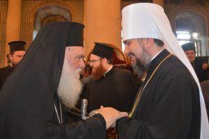 """Επιφάνιος: """"Ευχαριστώ τον Αρχιεπίσκοπο και τους Ιεράρχες της Εκκλησίας της Ελλάδος"""""""