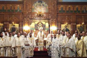 """Αρχιεπίσκοπος Σωτήριος: """"Είμαι πανευτυχής διότι στον Καναδά έχουμε καλούς Ιερείς"""""""