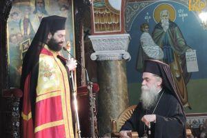 Ο Επίσκοπος Ευρίπου στον Πανηγυρίζοντα Μητροπολιτικό Ναό της Άρτας