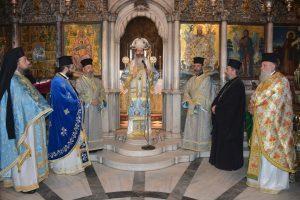 Ο Φθιώτιδος Συμεών στον Πανίερο Ναό της Μεγαλόχαρης Παναγίας Τήνου