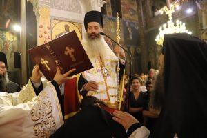 Ο νέος Μητροπολίτης Φθιώτιδος Συμεών στον Άγιο Αρτέμιο στο Παγκράτι