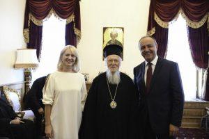 Ο Υφ. Εσωτερικών- Μακεδονίας Θράκης κ. Θ. Καράογλου θα υποδεχθεί εκ μέρους της Κυβέρνησης τον Οικουμενικό Πατριάρχη στο Διοικητήριο του Αγίου Όρους