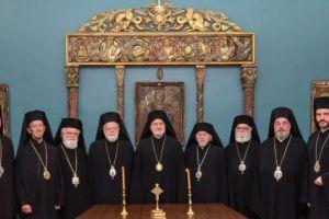 Σειρά αποφάσεων από την Ιερά Σύνοδο της Αρχιεπισκοπής Αμερικής
