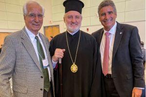 Συνάντηση Αρχιεπισκόπου Αμερικής με κορυφαίο Έλληνα επιστήμονα