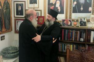 Επισκέφθηκε τις ρίζες του ο νέος Εψηφισμένος Επίσκοπος  Ταμιαθέως Γερμανός
