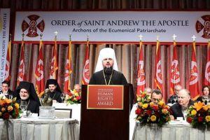 Το Αθηναγόρειο Βραβείο Ανθρωπίνων Δικαιωμάτων στον Προκαθήμενο Κιέβου Επιφάνιο