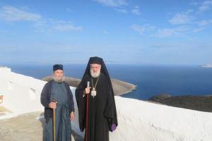 Αναγγελία εκδημίας Ηγουμένου Ι.Μ. Ταξιαρχών Σερίφου Αρχιμ. Μακαρίου