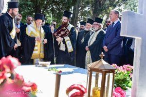 Η επίσκεψη- προσκύνημα του Οικ. Πατριάρχη Βαρθολομαίου εις την Ι.Μ. Βλατάδων