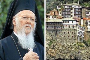 Τα δίκαια των Εκκλησιών και η ενότητα της Εκκλησίας απασχολούν περισσότερο τους Αγιορείτες της Γρηγορίου από τον Οικουμενικό Πατριάρχη;