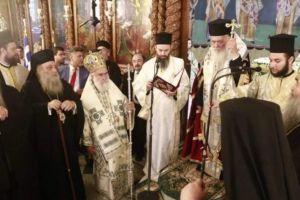 Αρχιεπίσκοπος και Πρόεδρος της Δημοκρατίας στα Ελευθέρια της Ξάνθης