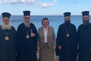 Με την υπουργό Πολιτισμού συναντήθηκαν Ιεράρχες της Κρήτης
