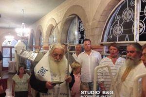 Μεγάλη ευλογία για την Ελλάδα: Ο Αργολίδος Νεκτάριος βάπτισε τον δισέγγονο του Αγίου Λουκά του Ιατρού
