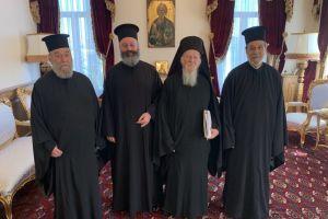 Συγχαρητήριες ευχές του Αρχιεπισκόπου Μακαρίου στους δύο προαχθέντες Μητροπολίτες.