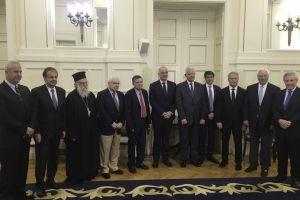 Ορκίστηκαν ο  νέος  Πολιτικός Διοικητής και Υποδιοικητής του Αγίου Όρους κ.κ. Αθανάσιος  Μαρτίνος και Αρίστος Κασμίρογλου