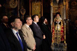 Ο Πατριάρχης Βαρθολομαίος πέρασε το κατώφλι του Αγίου Όρους..