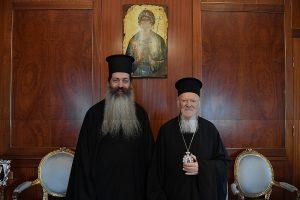 Συγχαρητήρια επιστολή του Οικουμενικού Πατριάρχη προς το νεο Μητροπολίτη Φθιώτιδος Συμεών