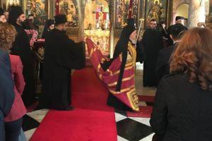 Ο Οικ. Πατριάρχης στον Άγιο Δημήτριο Ξηροκρήνης στην Πόλη
