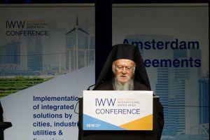 Πατριάρχης Βαρθολομαίος: «Το νερό είναι δικαίωμα κάθε ανθρώπινου όντος και κάθε δημιουργήματος»