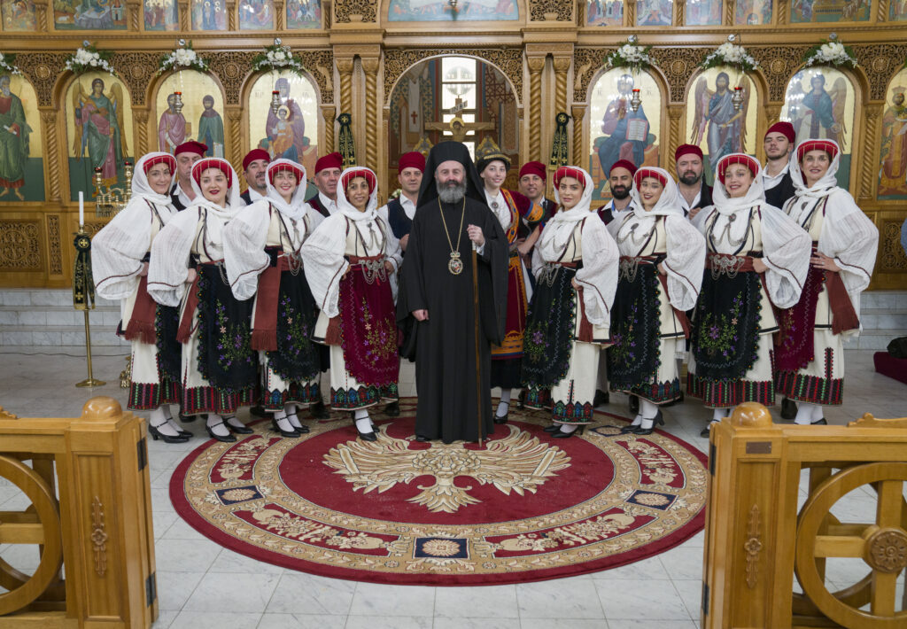 Η πρώτη επίσημη επίσκεψη του Αρχιεπισκόπου Αυστραλίας στην ενορία των Αγ. Ραφαήλ, Νικολάου και Ειρήνης
